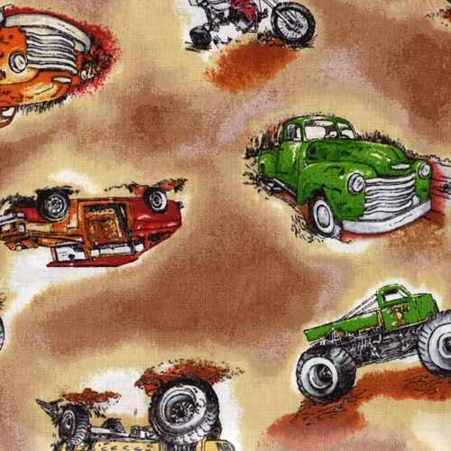 Paintbrush Studio - The Good Life - 120-14472 Trucks Brown