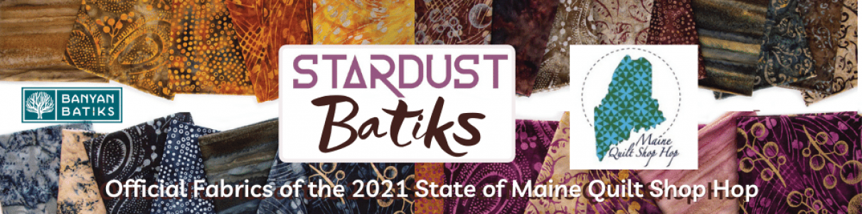 Stardust Batiks Maine Shop Hop Fabric