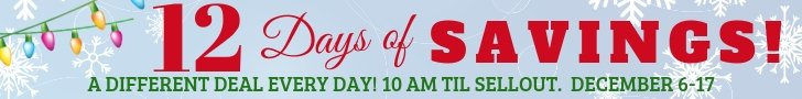 12 Days of Savings at The Fabric Garden!