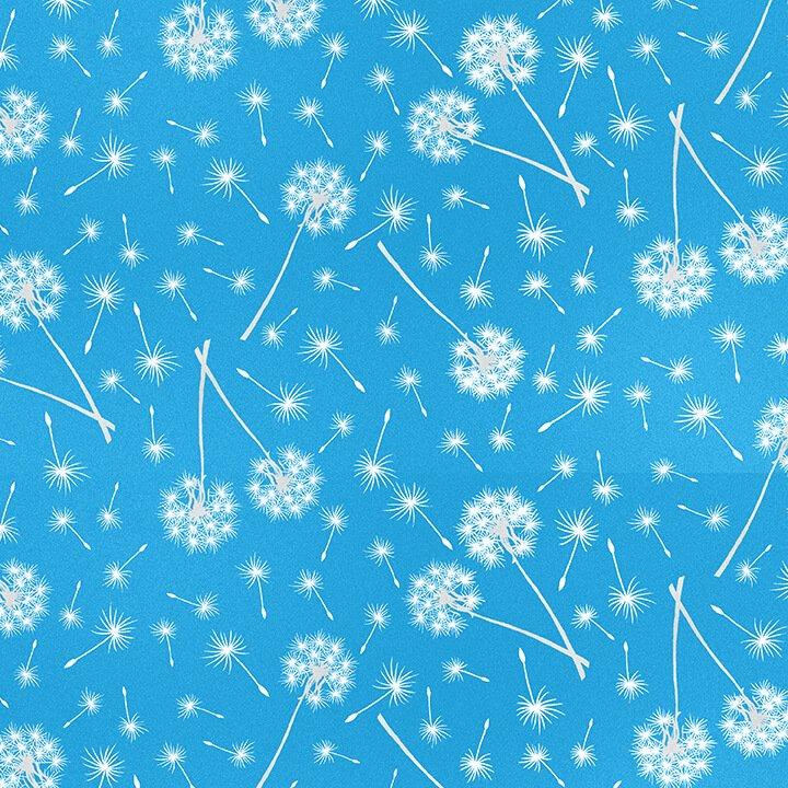 Blank - Let Your Light Shine 1371G-11 Fireworks Dandelion -Light Blue -Glow in the dark