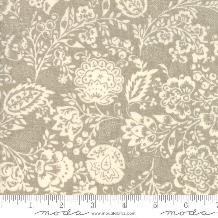 Moda | French General | Chafarcani 13850 18 Roche Carmen Grey Floral