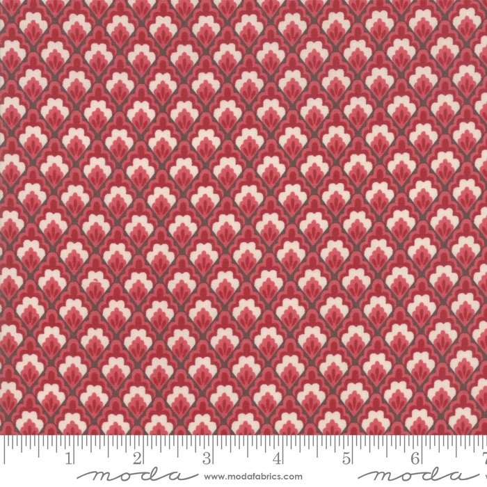 Moda | French General | Chafarcani 13851 11 Rouge Ruby Red