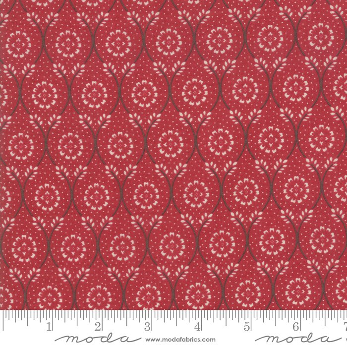 Moda | French General | Chafarcani 13852 11 Roseate Red Rouge