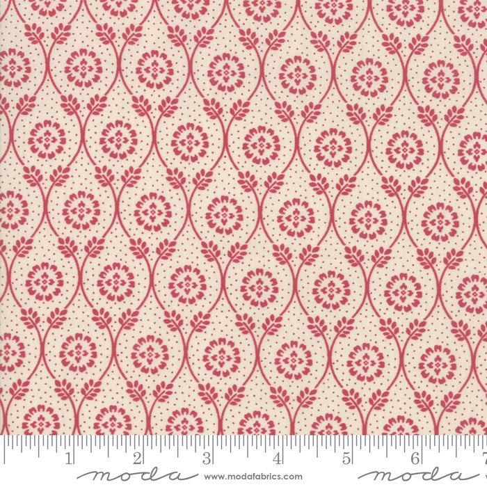 Moda | French General | Chafarcani 13852 12 Rouge Pearl