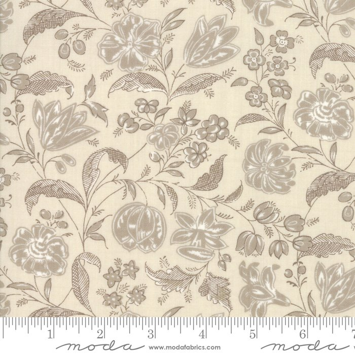 Moda | French General | Chafarcani 13853 13 Roche Pearl Floral