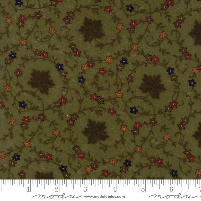 Moda - Country Road Flannel 9570-15F Green