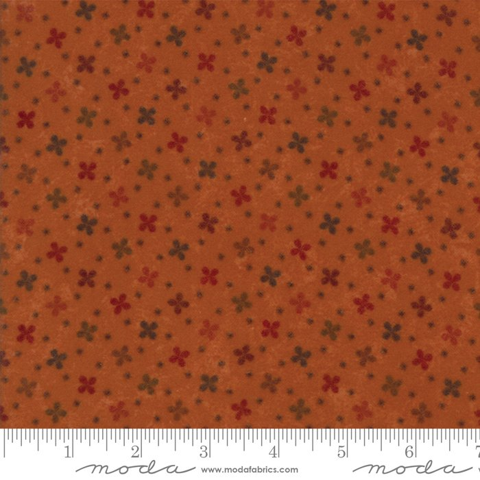 Moda - Country Road Flannel 9572-17F Pumpkin
