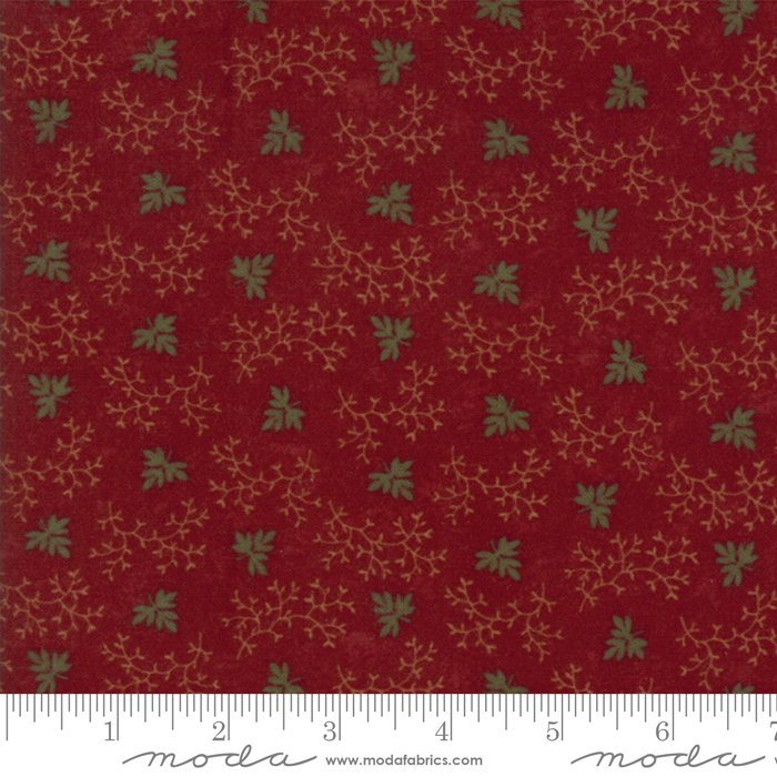 Moda - Country Road Flannel 9573-13F Red