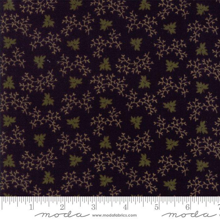 Moda - Country Road Flannel 9573-19F Black