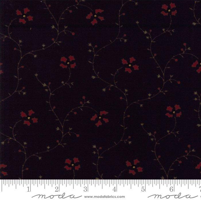 Moda - Country Road Flannel 9576-19F Black