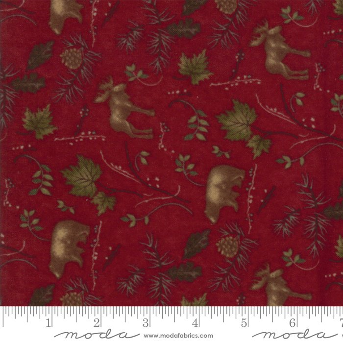 Moda - Return to Cub Lake 6742-16F Old Red Flannel