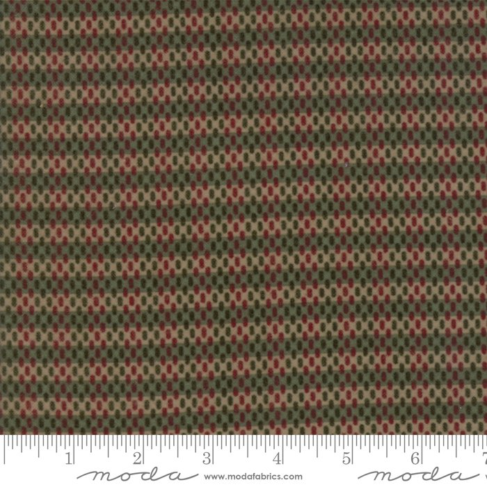 Moda - Return to Cub Lake 6745-13F Moss Flannel