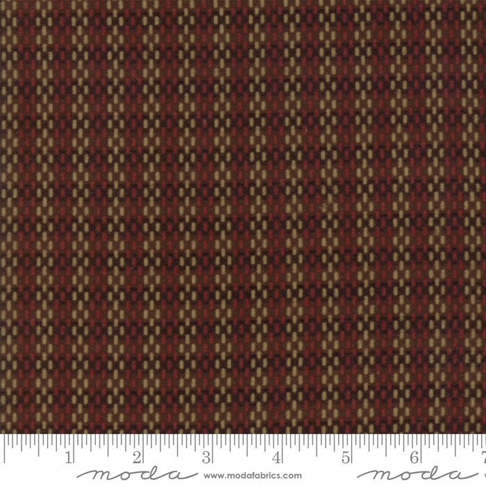 Moda - Return to Cub Lake 6745-18F Dark Brown Flannel