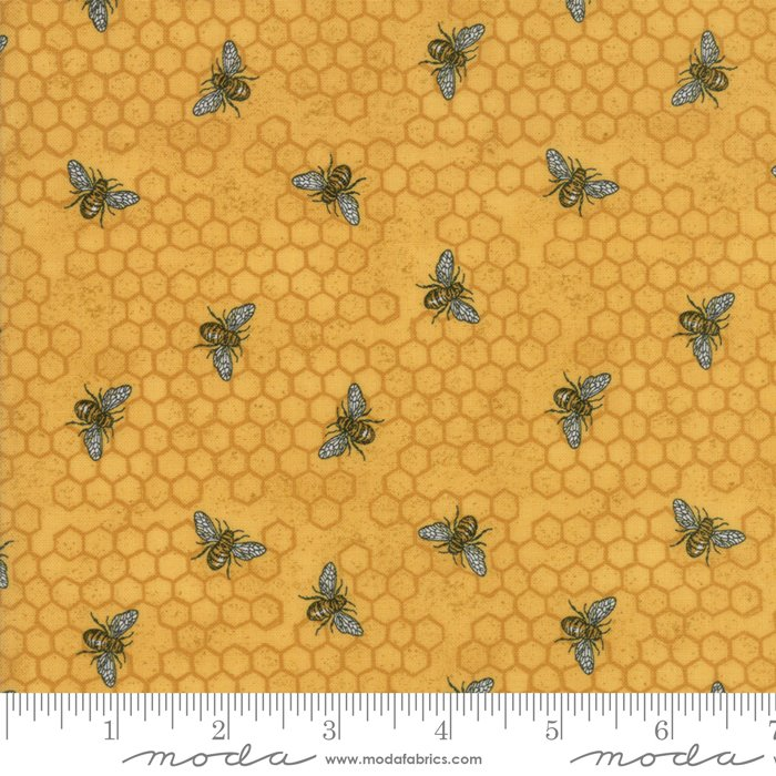 Moda | Bee Joyful by Deb Strain 19874 13 Busy Bee - Honey Gold
