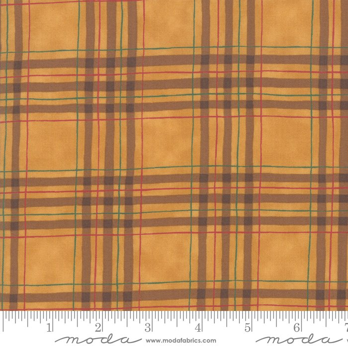 Moda - Explore 19913 16 Gold Plaid by Deb Strain