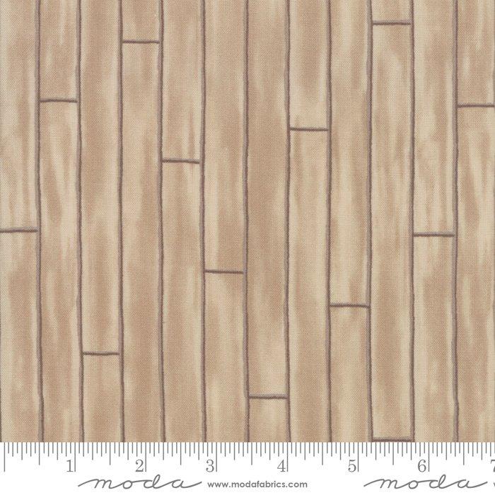 Moda - Explore 19918 12 Khaki Tan Wood Slats by Deb Strain