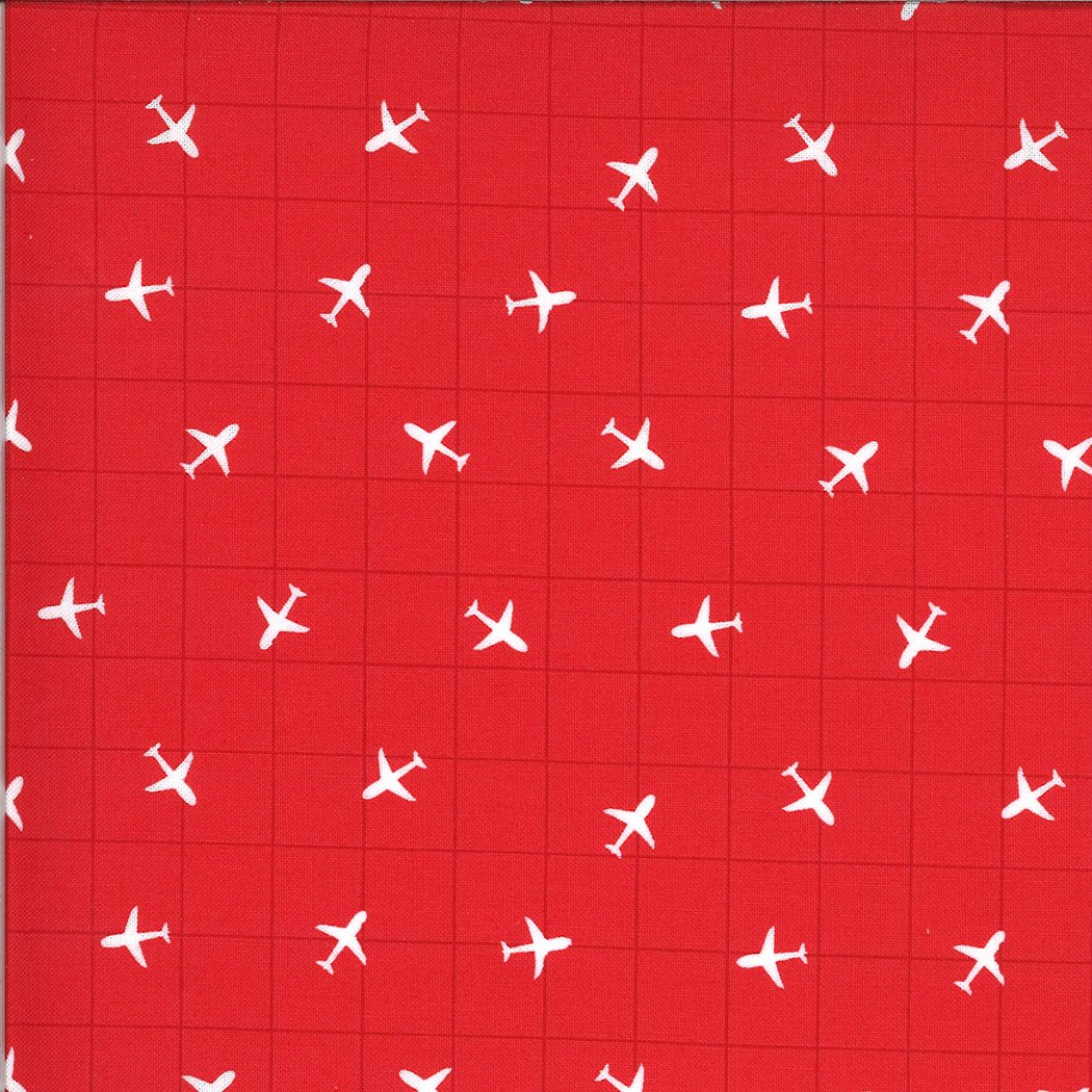 Moda On The Go - Youre On The Radar 20726 16 Red Light Airplanes by Stacy Iest Hsu