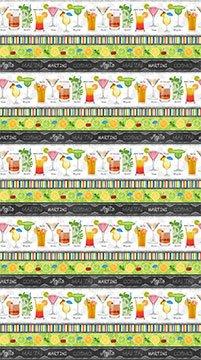 Northcott Cheers 21634-10 Border Stripe