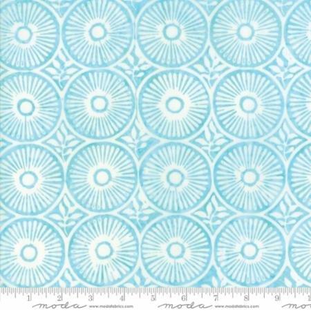 Moda - LongitudeBatiks in Rayon 27259-88R Aqua