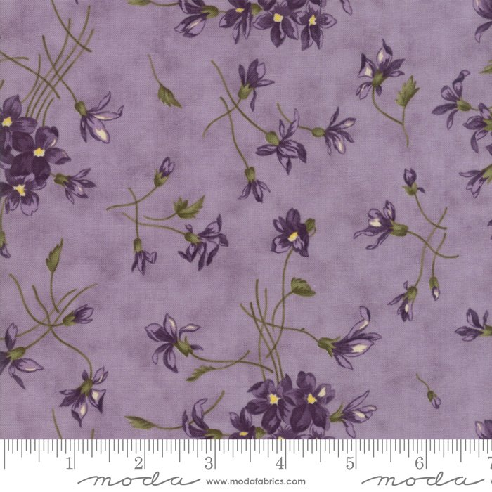 Moda   Sweet Violet by Jan Patek 2220-14 Violet Spray in Lilac