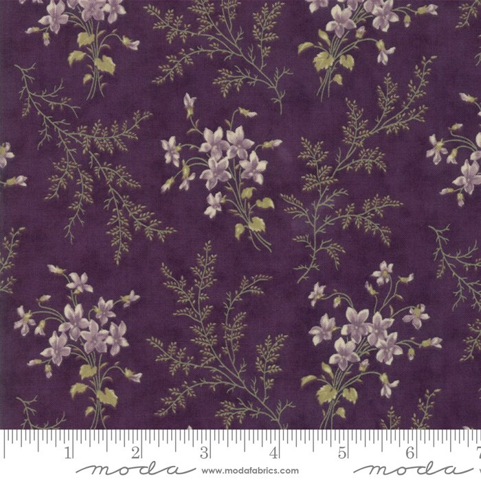 Moda | Sweet Violet by Jan Patek 2221-12 Violet Ferns in Violet