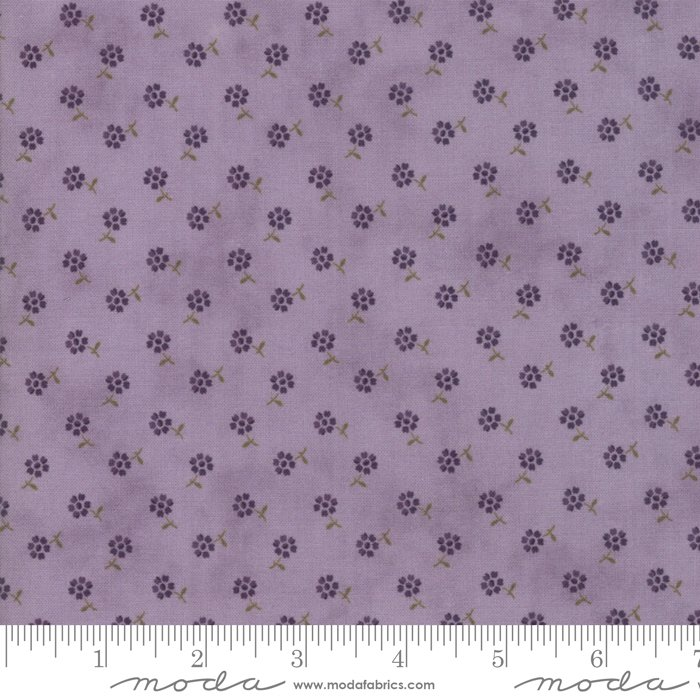 Moda | Sweet Violet by Jan Patek - 2226-14 Tiny Floral Lilac