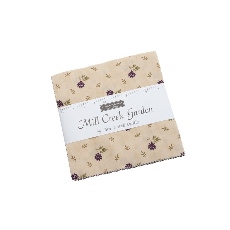 Moda Mill Creek Garden Charm Pack 2240PP by Jan Patek