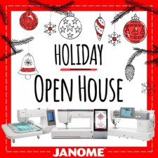 Janome Financing thru Saturday