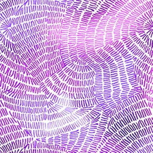 QT Fabrics - Ombre Stitches - Purple 25974 V