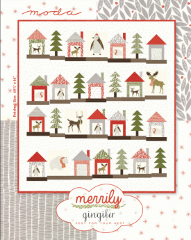 Free Quilt Pattern for Moda Fabrics Merrily by Gingiber