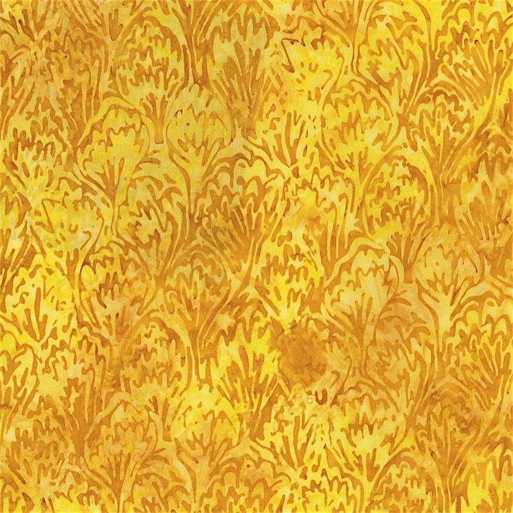 RJR Blossom Batiks 2813-005 FEATHERS - WALL FLOWER