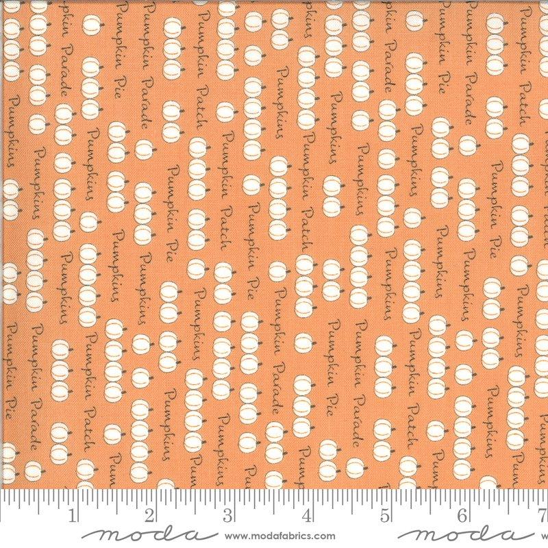 Moda Squirrelly Girl 2972 11 Apricot Pumpkin Parade