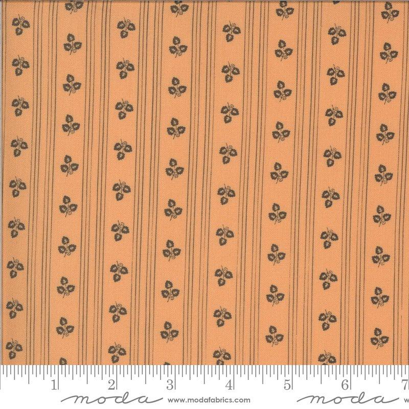 Moda Squirrelly Girl 2973 11 Apricot Stripe - Its Fall Yall