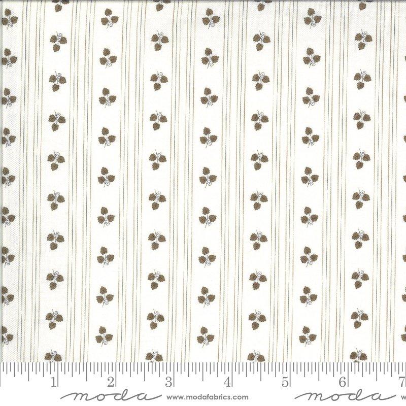 Moda Squirrelly Girl 2973 16 Ivory Acorn Stripe - Its Fall Yall