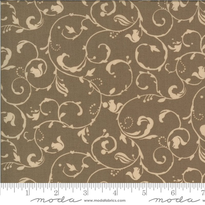 Moda Squirrelly Girl 2977 16 Acorn - Squirrel Swirl
