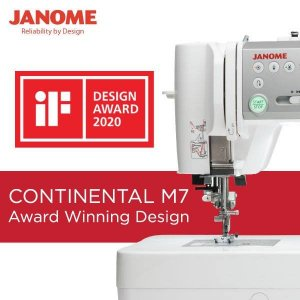Janome Continental M7 - IF Award-Winning Design