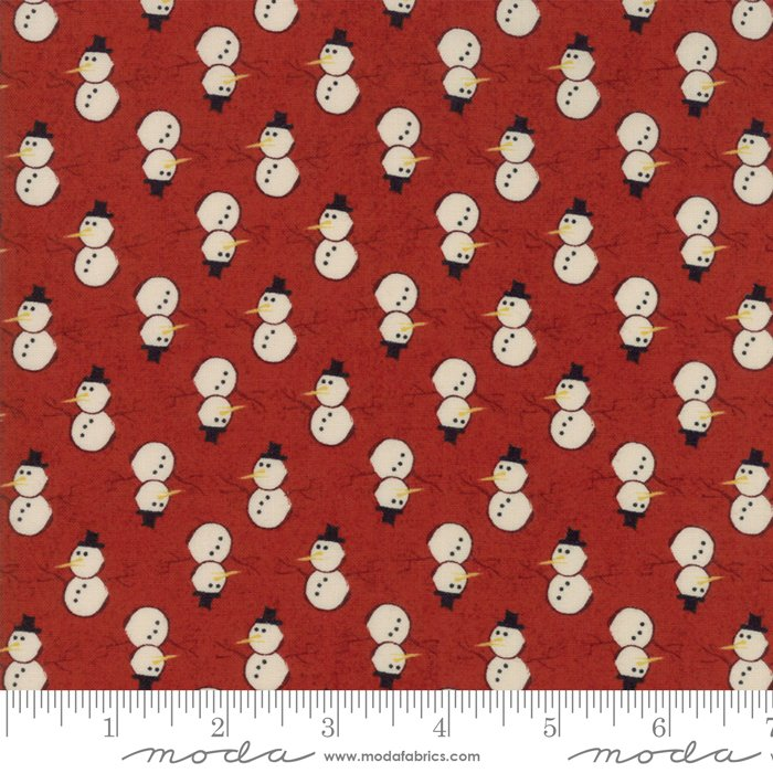Moda - Winter Village by Basic Grey - Cherry 30554 13 Snowman
