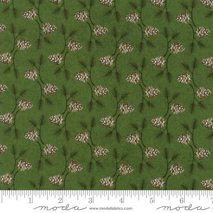 Moda - Winter Village by Basic Grey - Spruce 30555 15 Pine Cone