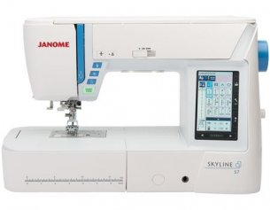 VIRTUAL QUILT CHALLENGE GRAND PRIZE - A JANOME SKYLINE S7