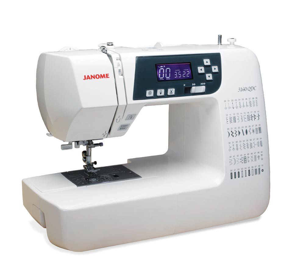 Janome 3160 QDC-B Computerized Sewing and Quilting Machine with Bonus Quilting Kit! - SHIPPED