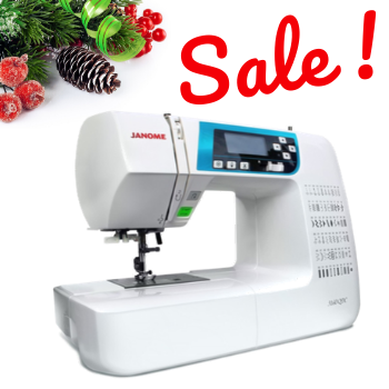 SALE! Janome 3160 QDC-B Computerized Sewing and Quilting Machine with Bonus Quilting Kit!