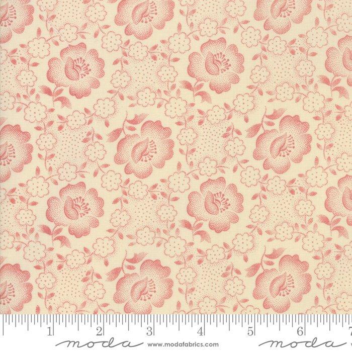 Jo's Shirtings by Jo Morton for Moda Fabric   38040 23 Parchment Brick
