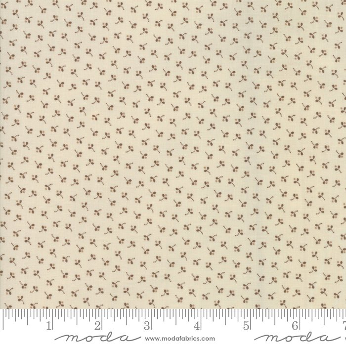 Jo's Shirtings by Jo Morton for Moda Fabric | 38042 23 Linen Brown