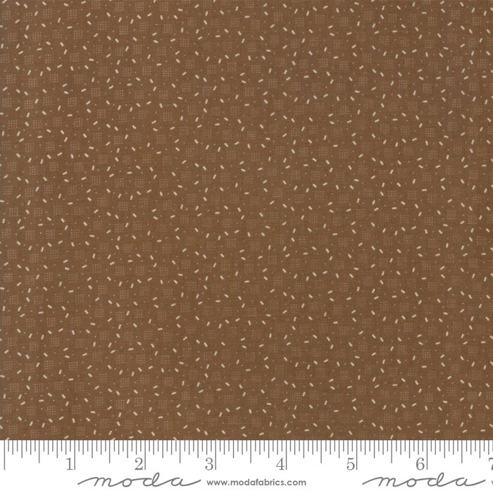 Jo's Shirtings by Jo Morton for Moda Fabric | 38046 19 Brown