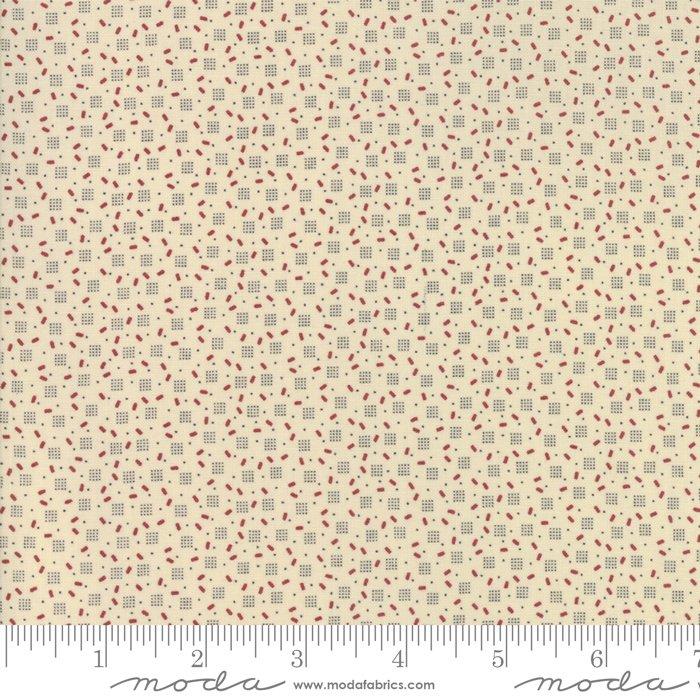 Jo's Shirtings by Jo Morton for Moda Fabric | 38046 22 Parchment Brick