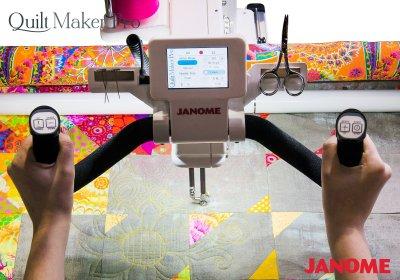 Janome Quilt Maker Pro 18 Longarm Quilting Machine