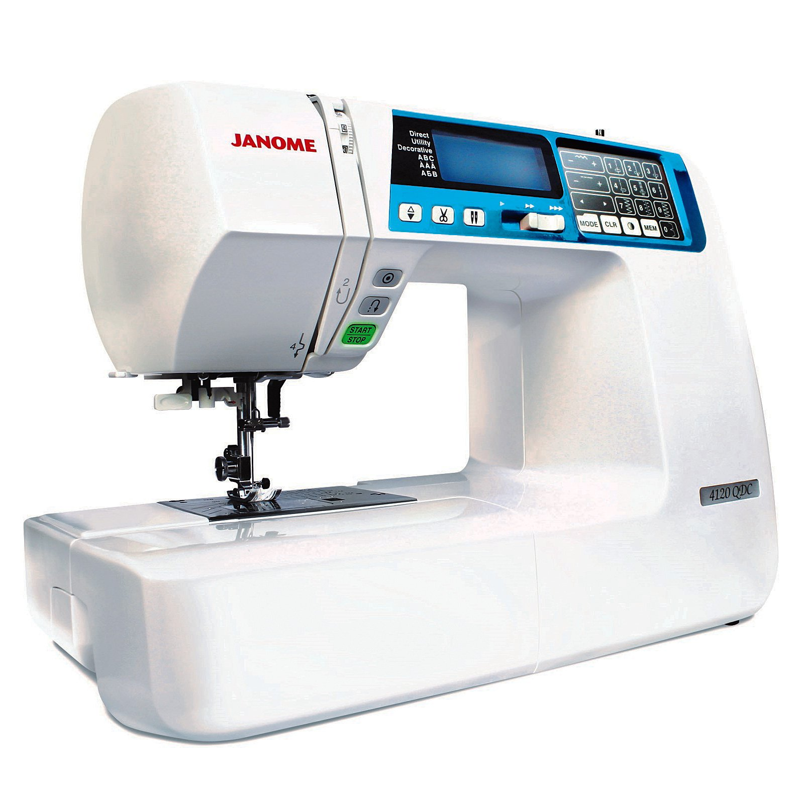 Janome 4120 QDC-B Computerized Sewing and Quilting Machine