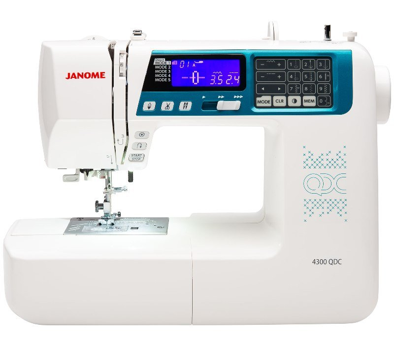 NEW! Janome 4300 QDC Sewing & Quilting Machine