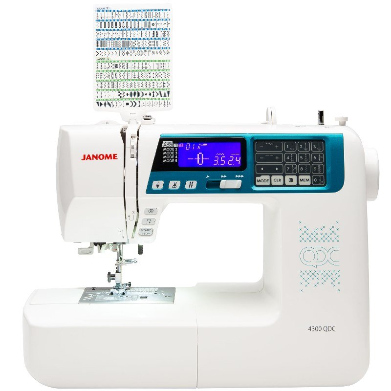 Janome 4300 QDC Sewing & Quilting Machine
