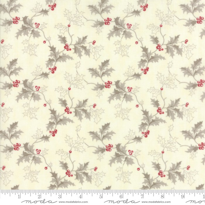 Moda Fabrics - Holly Woods by 3 Sisters - 44172 11 Snow Berry